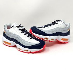 Nike Air Max 95 - MIDNIGHT NAVY//WHITE/ORANGE
